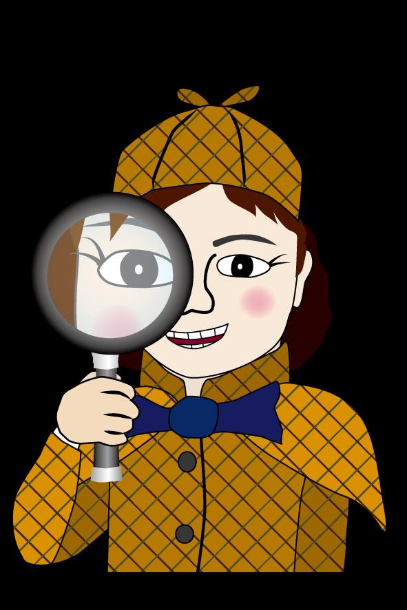 「ベクタ画像上で宝探し」の少女探偵