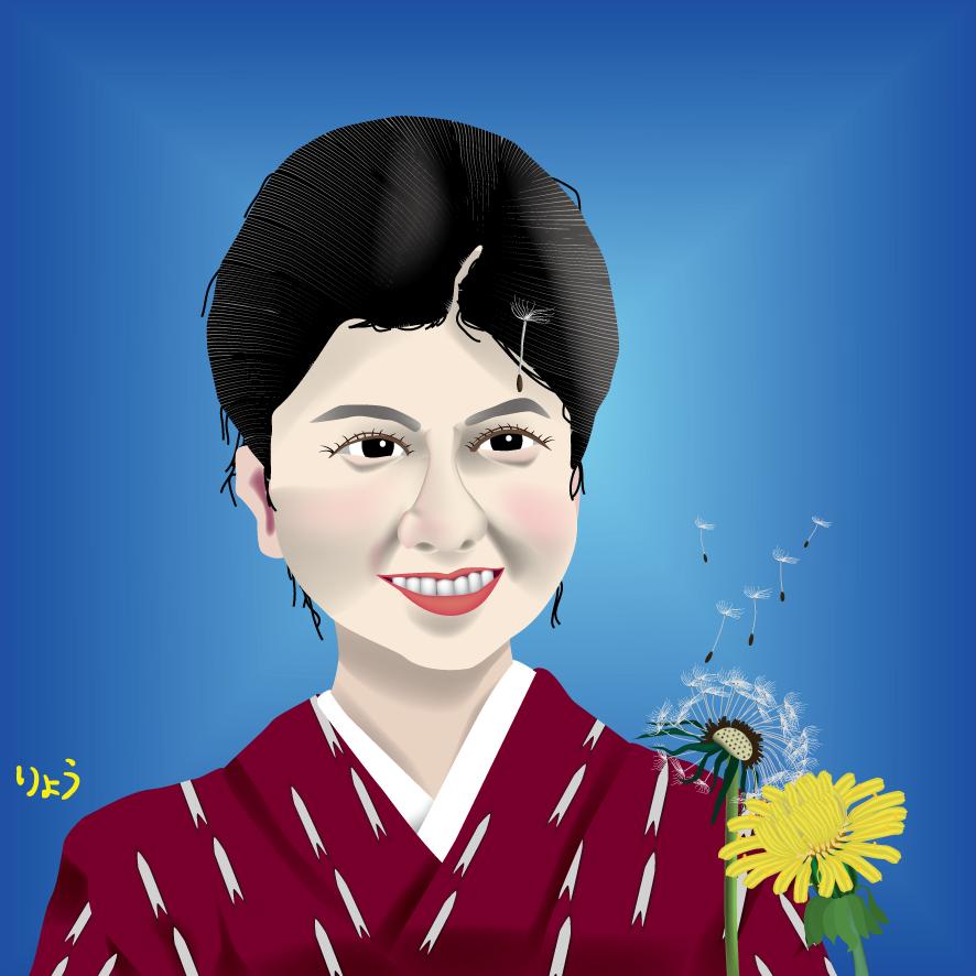 タンポポ 沢口靖子イラスト 澪つくし dandelion